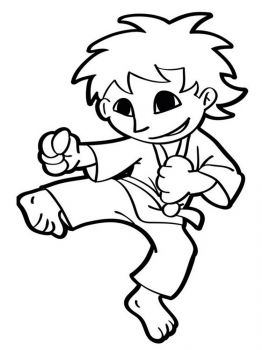 Karate-coloring-pages-8