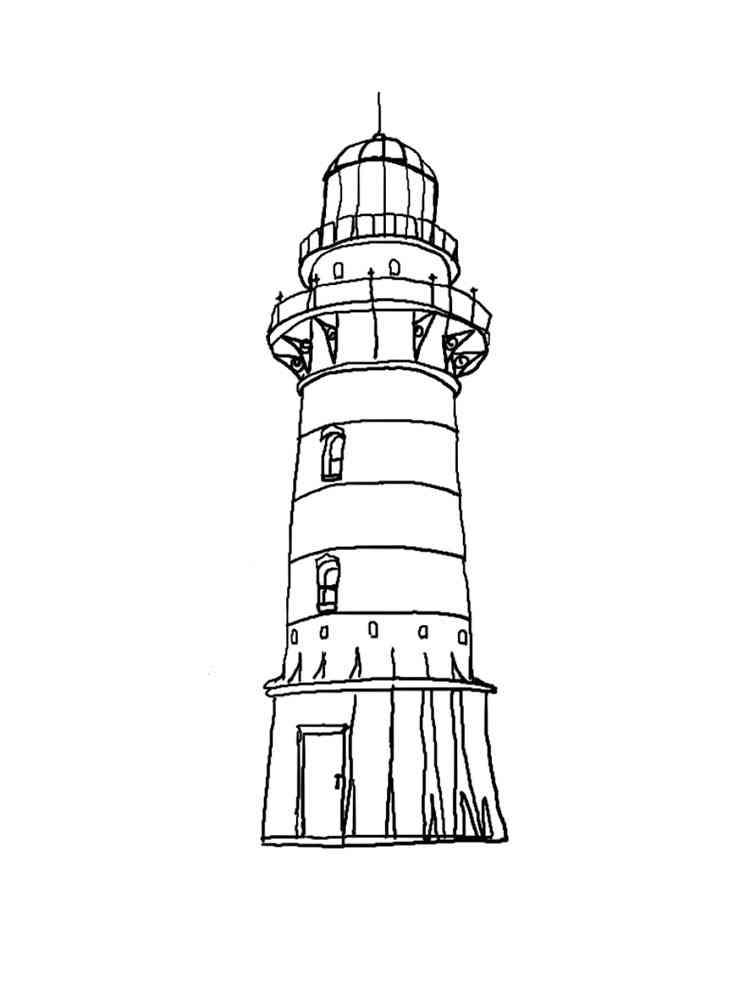 malvorlagen leuchtturm  ausmalbilder kostenlos zum ausdrucken