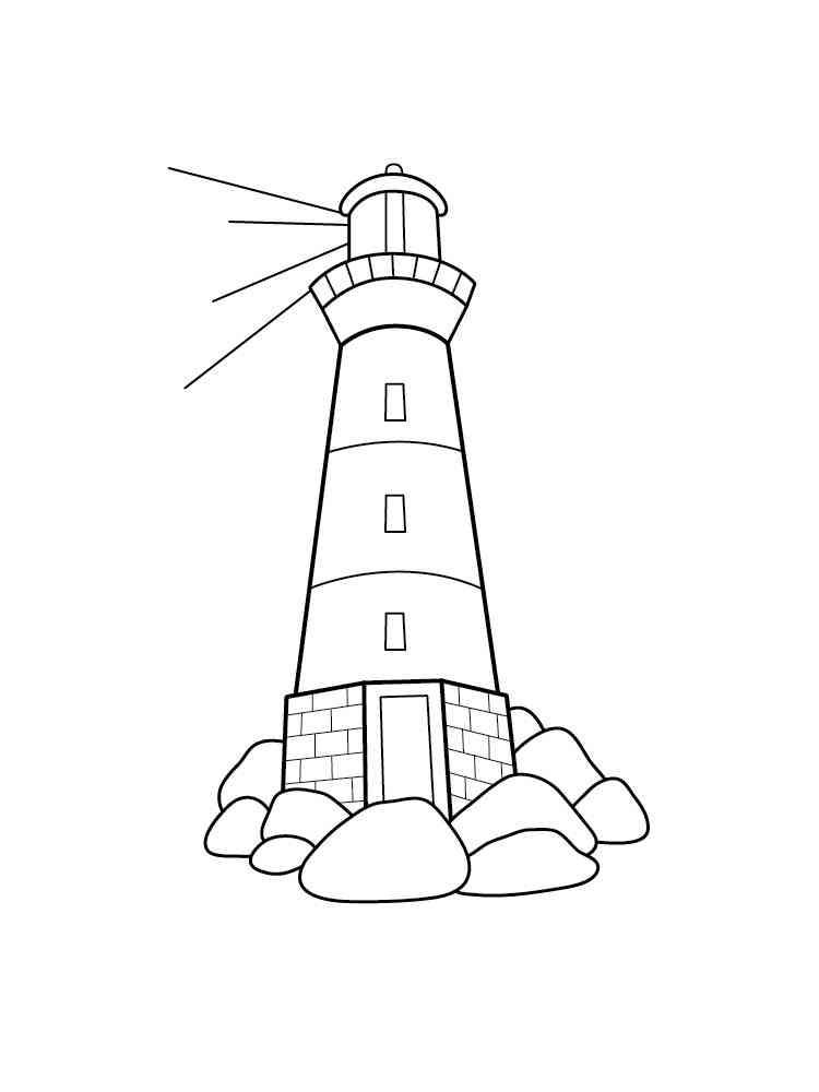 malvorlagen leuchtturm - ausmalbilder kostenlos zum ausdrucken