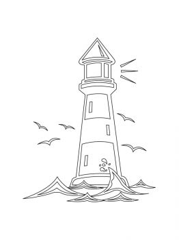 Lighthouse-coloring-pages-7