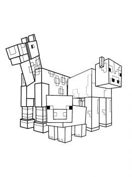 Minecraft-Animal-coloring-pages-21