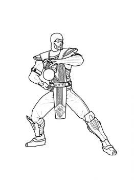 Mortal-Kombat-coloring-pages-9