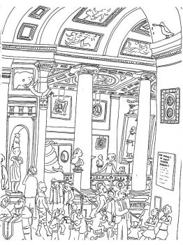 Museum-coloring-pages-19