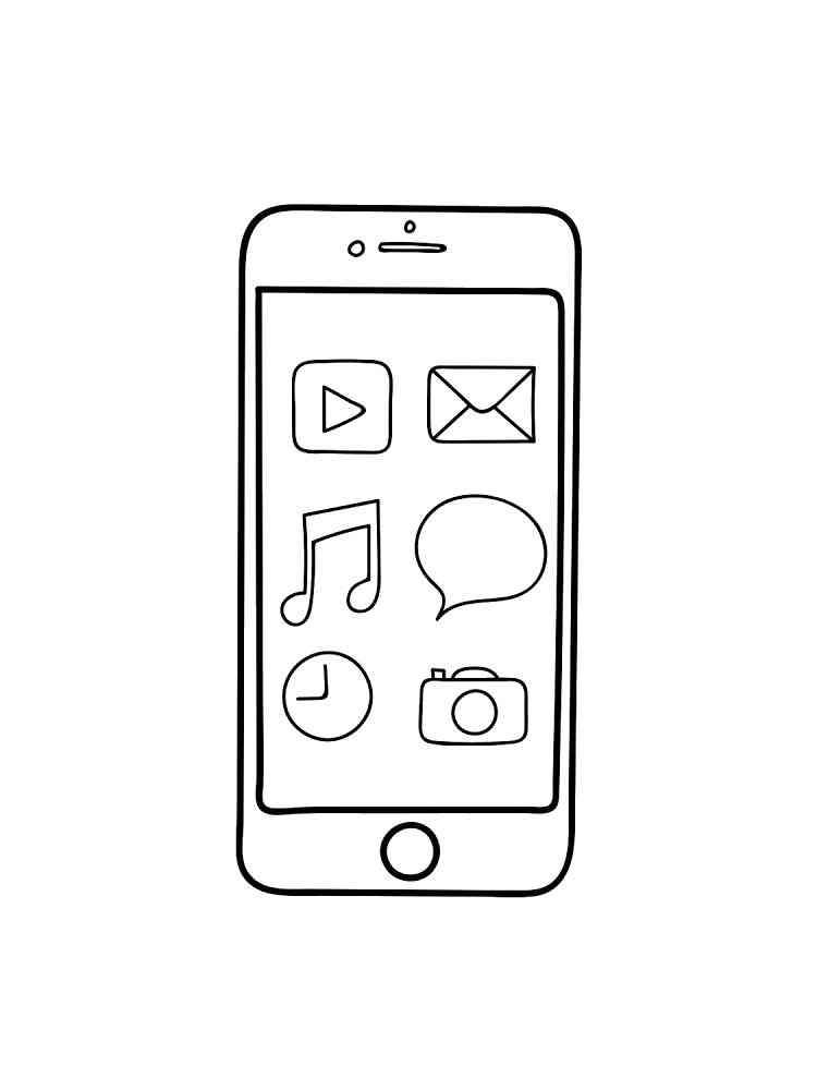 malvorlagen telefon  ausmalbilder kostenlos zum ausdrucken