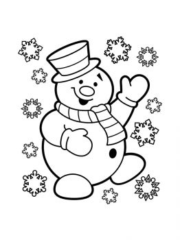 Snowman-coloring-pages-1