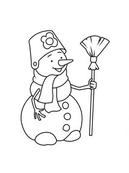 Snowman-coloring-pages-2