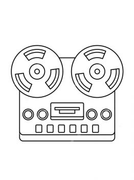Tape-Recorder-coloring-pages-24