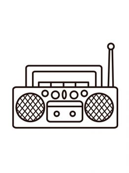 Tape-Recorder-coloring-pages-29