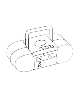 Tape-Recorder-coloring-pages-30