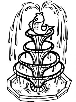 fountain-coloring-pages-9