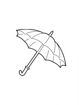 umbrella-coloring-pages-1