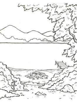 Lake-coloring-pages-2
