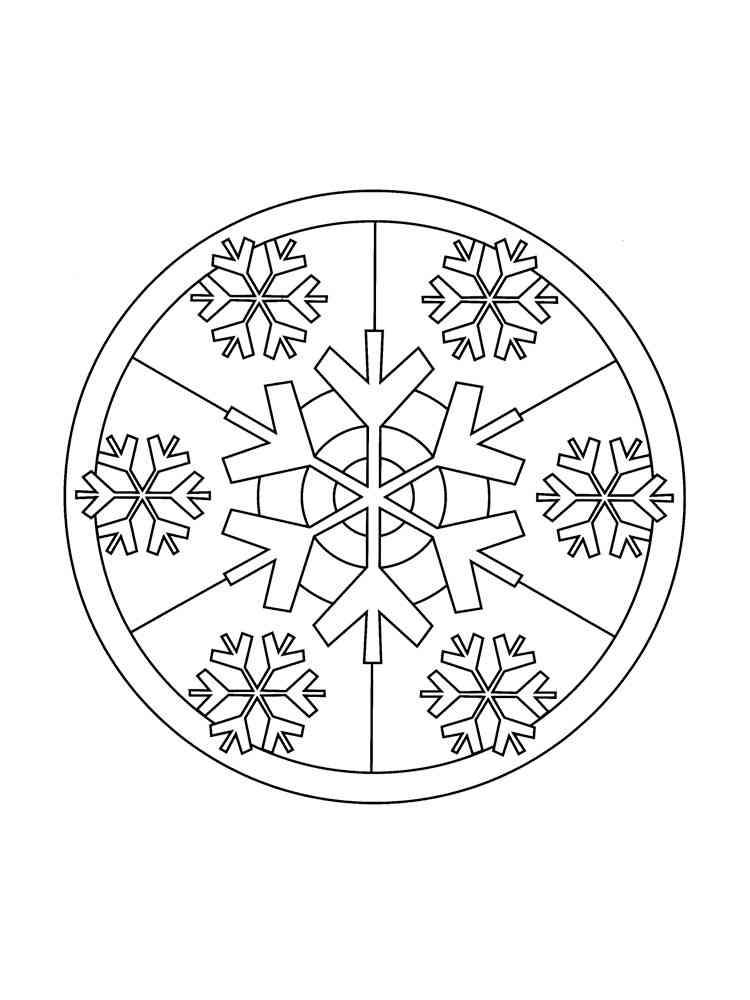 malvorlagen schneeflocken  ausmalbilder kostenlos zum