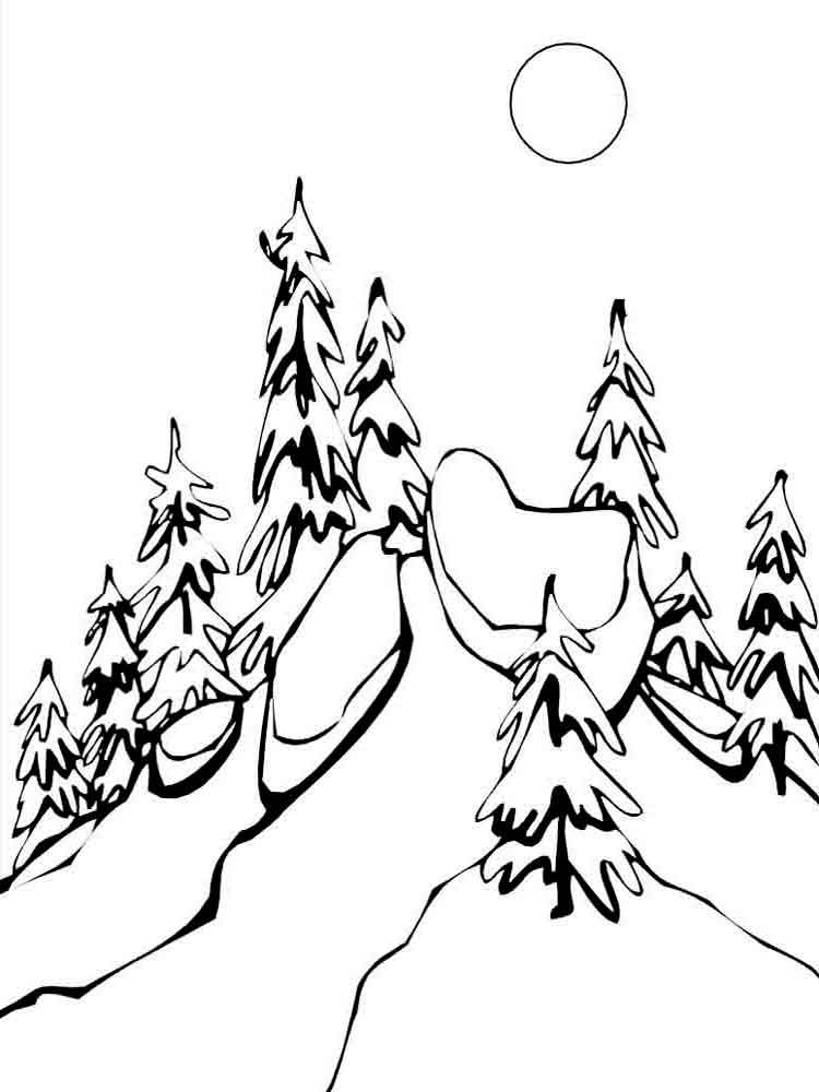 malvorlagen winter  ausmalbilder kostenlos zum ausdrucken