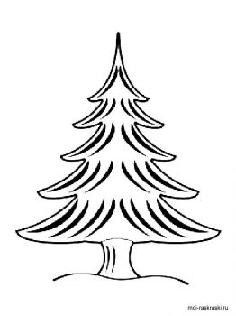 fir-tree-coloring-pages-9